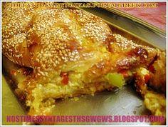ΚΟΤΣΙΔΟΤΥΡΟΠΙΤΑ ΣΟΥΠΕΡ!!!...by nostimessyntagesthsgwgws.blogspot.com Flour Recipes, Cooking Recipes, Greek Recipes, Lasagna, Recipies, Bread, Chicken, Ethnic Recipes, Desserts