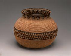 Native American Indian Basket Chemehuevi Willow.  Circa 1885