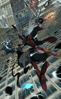 Character Inspiration, Character Art, Character Design, Anime Art Girl, Manga Art, Cyberpunk Kunst, Ninja, Samurai Artwork, Animation Storyboard