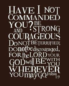 Joshua 1:9<3