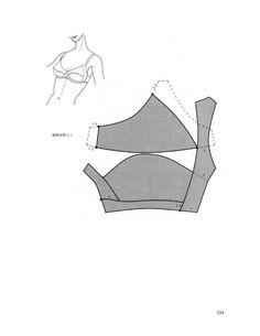 underwear preparation----Patronaje-de-ropa-Interior - modelist kitapları Underwear Pattern, Lingerie Patterns, Sewing Lingerie, Corset Sewing Pattern, Bra Pattern, Bikini Pattern, Diy Bra, Dress Making Patterns, Altering Clothes