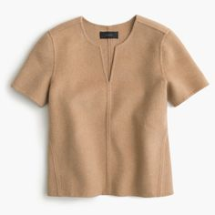 Shop the Collection Double-Faced Cashmere Top at JCrew.com and see our entire selection of Women's Shirts.