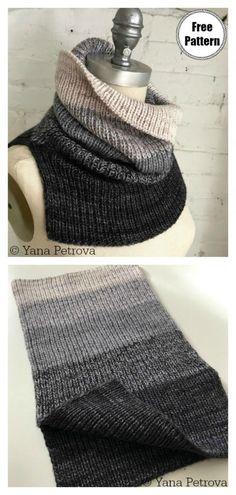 5 Simple Cowl Free Knitting Pattern - knitting is as easy as 3 Das St . - 5 Simple Cowl Free Knitting Pattern – Stricken ist so einfach wie 3 Das St… – – 5 Simple Cowl Free Knitting Pattern – knitting is as easy as 3 Das St … – – Knitting Terms, Easy Knitting Patterns, Knitting Tutorials, Hand Knitting, Loom Knitting, Stitch Patterns, Knitting Needles, Knitted Cowl Patterns, Free Scarf Knitting Patterns