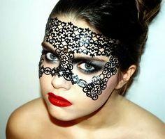 Lace makeup My photo & makeup