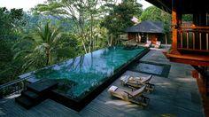 Hotel Alila Ubud en Bali.