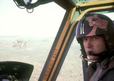 Helicopter pilot with the 1st Cavalry Division