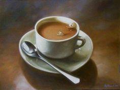 B:sides playlist ~ Caffeine - art: Large Coffee With Duck and Spoon 1999 Artist: Kaj Stenvall