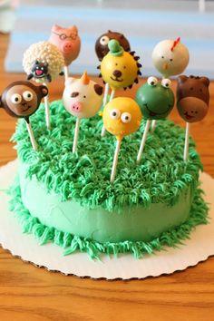 Silly Animal Cake Pops