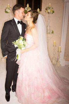 Lea Black Shares Her Favorite Bridal Trend Pink Wedding Dresses Ok Magazine