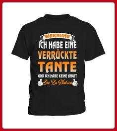 WARNUNG ICH HABE EINE VERRCKTE TANTE - Shirts für kinder (*Partner-Link)