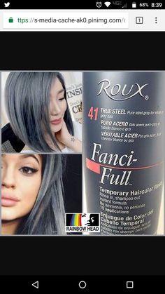 Fanci Full Rinse Temporary Hair Color Chart Sally Beauty