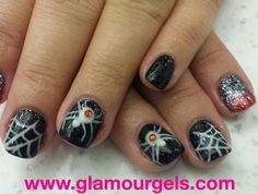 Halloween done right! www.glamourgels.com #halloween