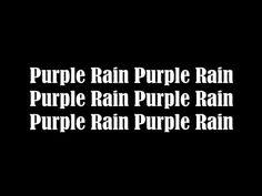 Prince - 1984 Purple Rain Lyrics