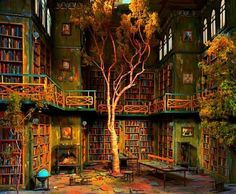 amazing libraries...Can you imagine if schools didn't have to deal with finding funding? If professionals in the film industry could use their magic to create inspiring spaces for the basic nurturing of imagination.
