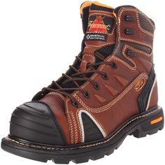 Thorogood Composite Safety Toe Gen Flex Work Boot, Brown, 11 W Shoe Goo, Safety Toe Boots, Good Work Boots, Composite Toe Work Boots, Martens, Kickers, Steel Toe Work Boots, Comfortable Boots, Boots Online