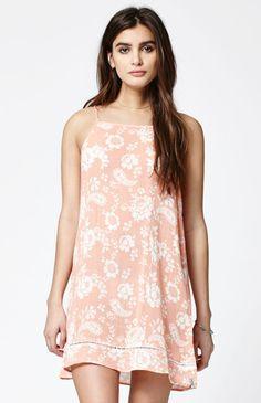 Sahara Floral Print Slip Dress