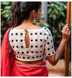 Indian Blouse Designs, Blouse Back Neck Designs, Cotton Saree Blouse Designs, Simple Blouse Designs, Stylish Blouse Design, Kurta Designs, Latest Blouse Designs, Kalamkari Blouse Designs, Blouse Neck Patterns