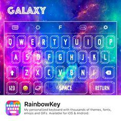 Personaliza o teu teclado com as tuas fotos favoritas! ✌️😍👍 Descarrega #RainbowKey grátis: