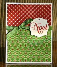Stampin' Up! Christmas by Krystal's Cards and More: Christmas Cards from 2012