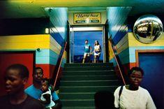Image: Members of the public in Daytona Beach, Florida, USA, 1988 © Alex Webb/Magnum Photos.