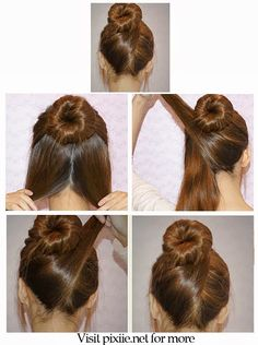 The 77 best DIY Hairstyles images on Pinterest | Hair Makeup ...