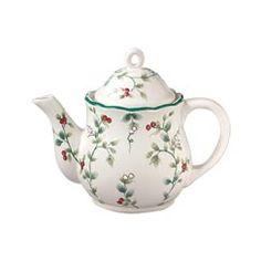 Buy Winterberry Teapot, Sculpted online at Pfaltzgraff.com