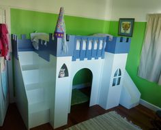 Castle Bed | Do It Yourself Home Projects from Ana White