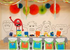 Monster party ideas and inspiration