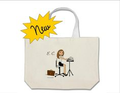 Court Reporter Jumbo Tote Bag - Personalized