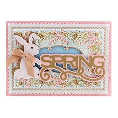 Anna Griffin® Cuttlebug® Love & Easter Embossing Dies