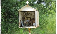 little catholic shrine belgium country side - Google Search