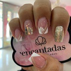 Manicure Nail Designs, Toe Nail Designs, Toe Nails, Manicure And Pedicure, Rhinestone Nails, Bling Nails, Judy Nails, Pink Nail Colors, Nail Art Designs Videos