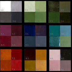 Emery & cie - Tiles - Kleurtjes - Colours