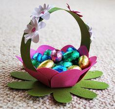 Ruth´s Kreativideen: Blumenkörbchen