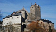 Hrad Kost, or Bone Castle, in Český ráj