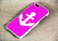 Unique Anchor iPhone 5 Case, Hard Plastic Case and Rubber Material Case