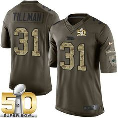 Kurt Warner jersey Nike Panthers #31 Charles Tillman Green Super Bowl 50 Men's Stitched NFL Limited Salute to Service Jersey Eagles Fletcher Cox jersey Marshawn Lynch jersey