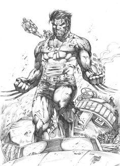 Elektra, Gambit, Rogue, Wolverine, Spider-Man vs. Venom, and Sabertooth vs. Wolverine by Marcio Abreu *
