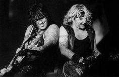 Nikki Sixx & Vince Neil - Motley Crue
