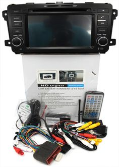 MAZDA CX9 - 8″ Digital Super HD with GPS and touch-screen. 2 Din All in 1 unit. DVD, Navigation, AM-FM Radio, TV, IPOD, Multimedia Interface, Bluetooth, USB, SD card. Special Price: MYR1850.00
