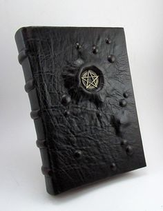 Small Grimoire of witches, bound in lambskin, all pages are aged. Size x in Grimoire of the Witches Handmade Journals, Handmade Books, Journal Covers, Book Journal, Altered Books, Altered Art, Grimoire Book, Magic Book, Leather Journal