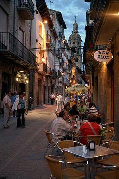 El comer en uno de estos lugares... San Sebastian