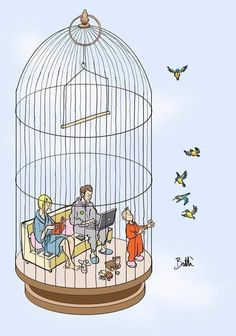 In the cage Pictures With Deep Meaning, Arte Fashion, Drawing Competition, Meaningful Pictures, Poster Drawing, Cartoon Posters, Medical Art, Art Drawings Sketches, Tattoo Studio