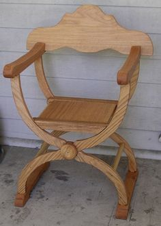 Master Caraidoc's chairs. http://www.daviddfriedman.com/Medieval/Articles/folding_armchair/folding_armchair.html#