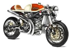 Winner of the 2012 EICMA 'Best Cafe Racer' award. The South Garage Cafè Ducati S4R 'Kelevra' (via Return of the Cafe Racers)