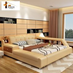 Have you ever found the most comfortable bedroom design and made it feel comfortable in bed? some bedrooms meet the ideal criteria using a simple bedroom design with high functionality.