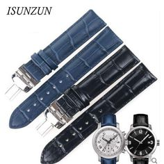 28.89$  Know more  - ISUNZUN Men/Women Watchband For Tissot T055 Watch Band PRC200 T055410A/417/430 Male Watch Genuine Leather Watch Strap 19 23 mm