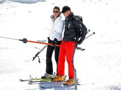 Prince William And Kate Middleton Skiing Tennis