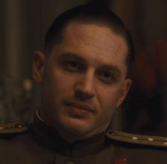 "Tom Hardy as Leo Demidov in ""Child 44″"