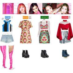 Resultado de imagen para ropa coreana de blackpink poleras